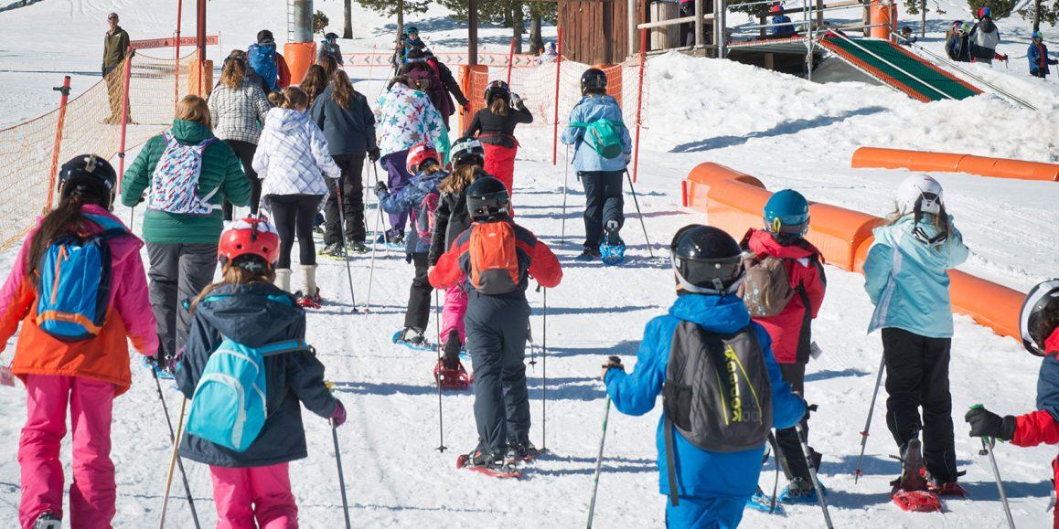 Animación turística para grupos de escolares en Semana Blanca