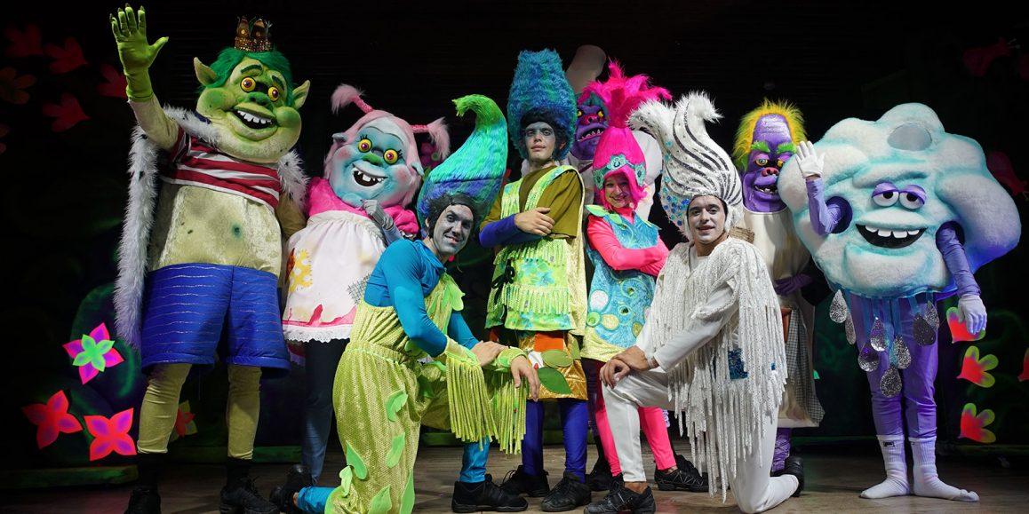 True Colors, colorido espectáculo de animación para todos los públicos